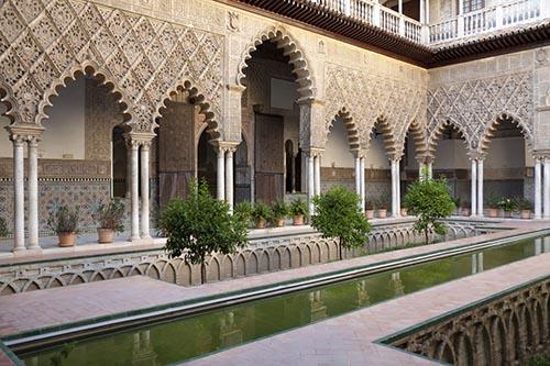 Alcazar koninklijk paleis