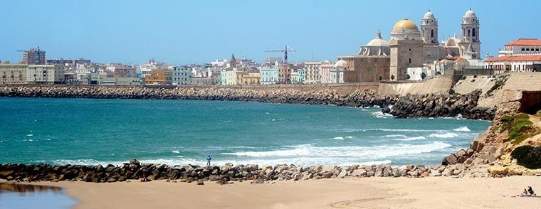 Cadiz in Andalusië