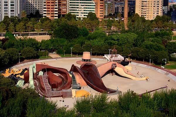 Turia park valencia tuinen jard n del turia for Hotel nh jardines del turia
